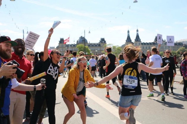Copenhagen Marathon, cheering like no other! Photo Sofie Riisgaard